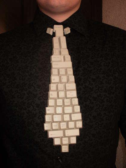 Corbata-teclado