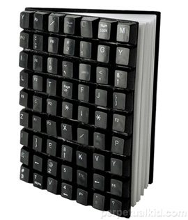 recycled-keyboard-journal
