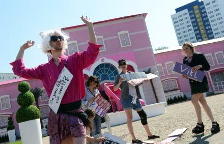 Eröffnung Erlebniswelt Barbie Dreamhouse in Berlin