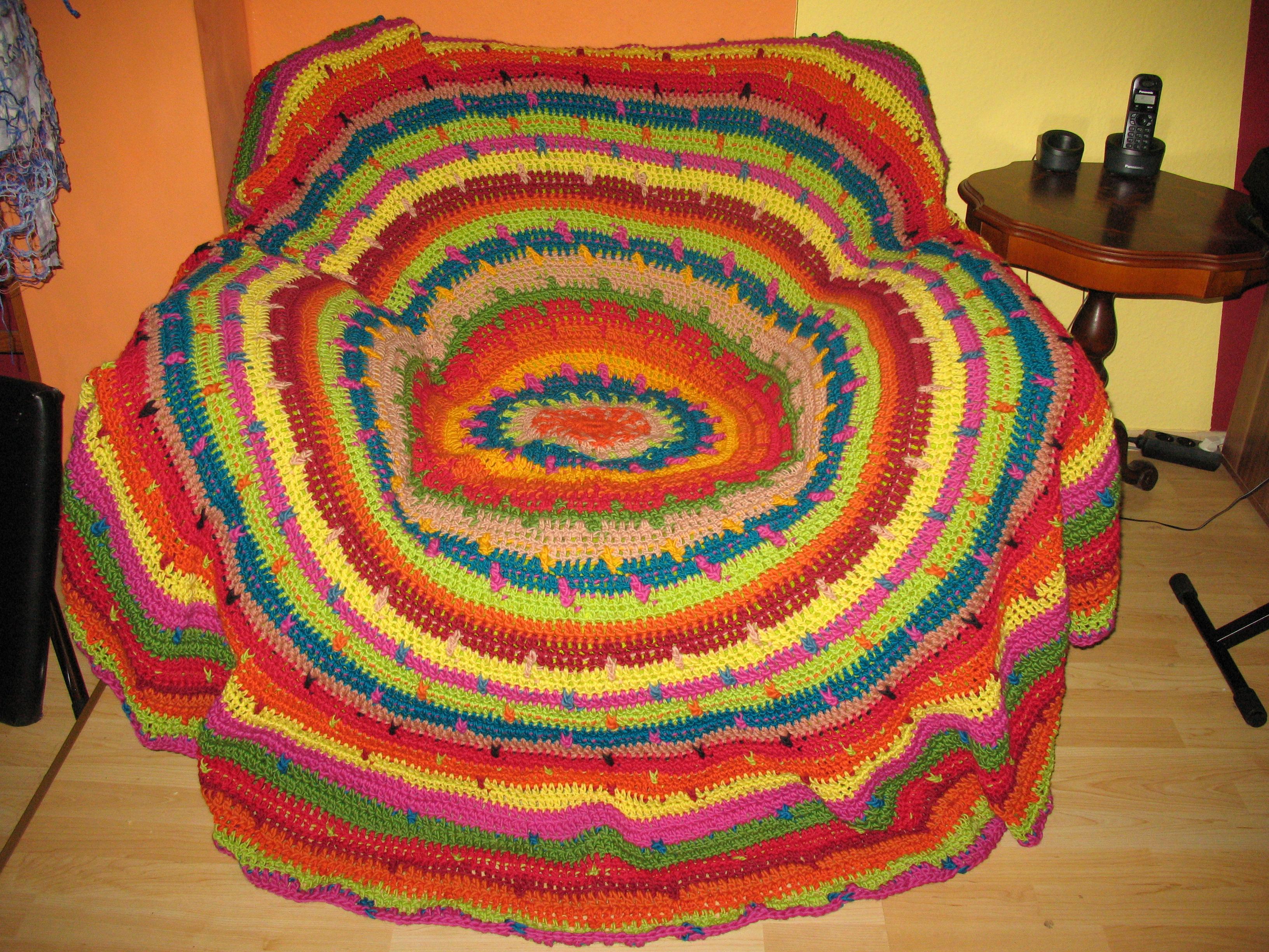 Runde Decke Häkeln My Blog