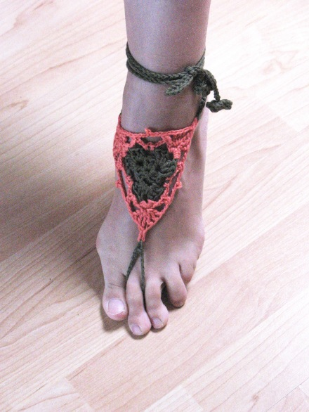 Barfuß Sandalen Häkeln Bennelle