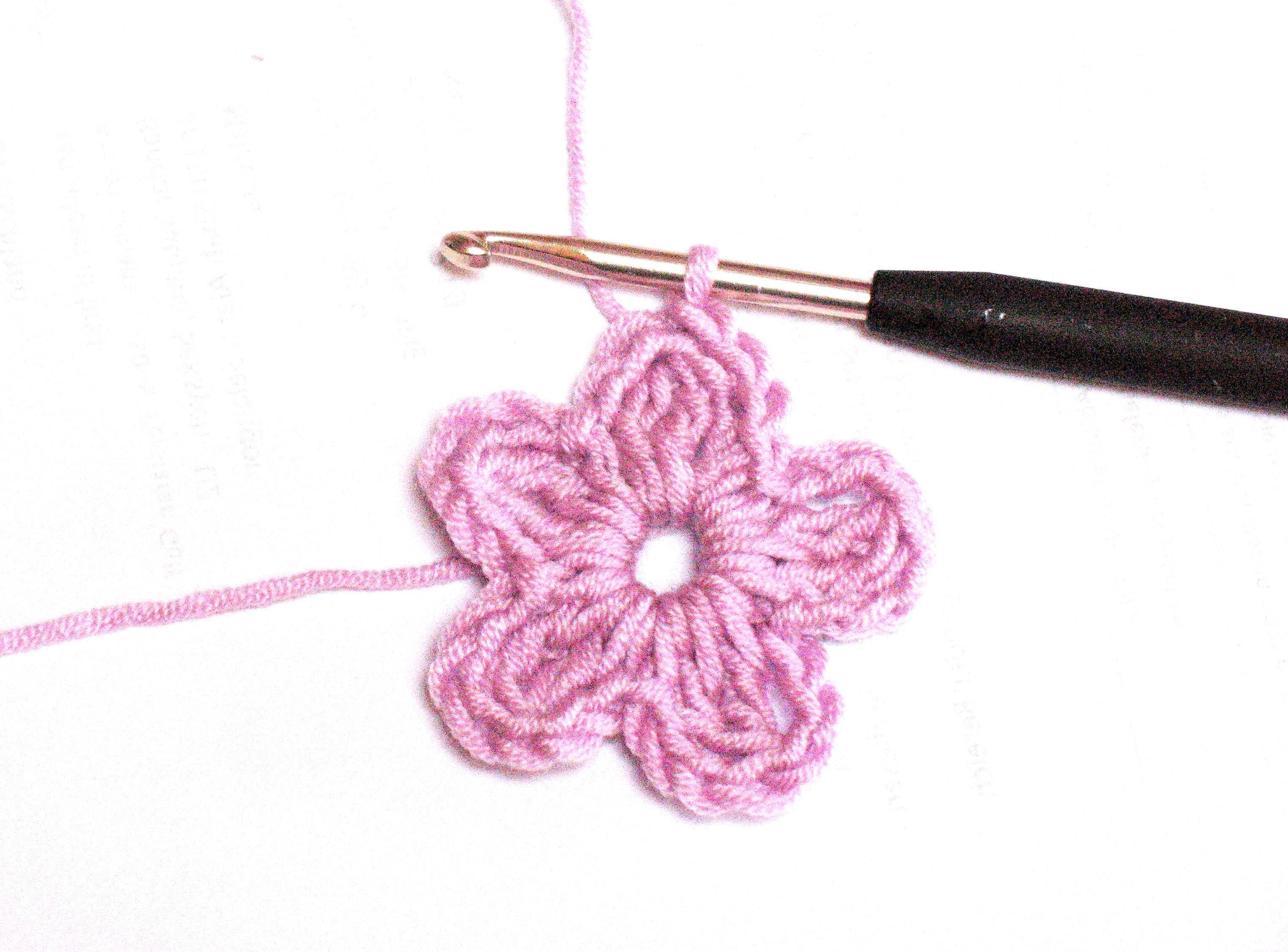 Blume Häkeln Bennelle