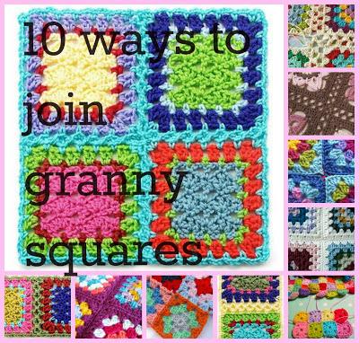 Zehn Verbindungsmöglichkeiten Für Granny Squares Bennelle