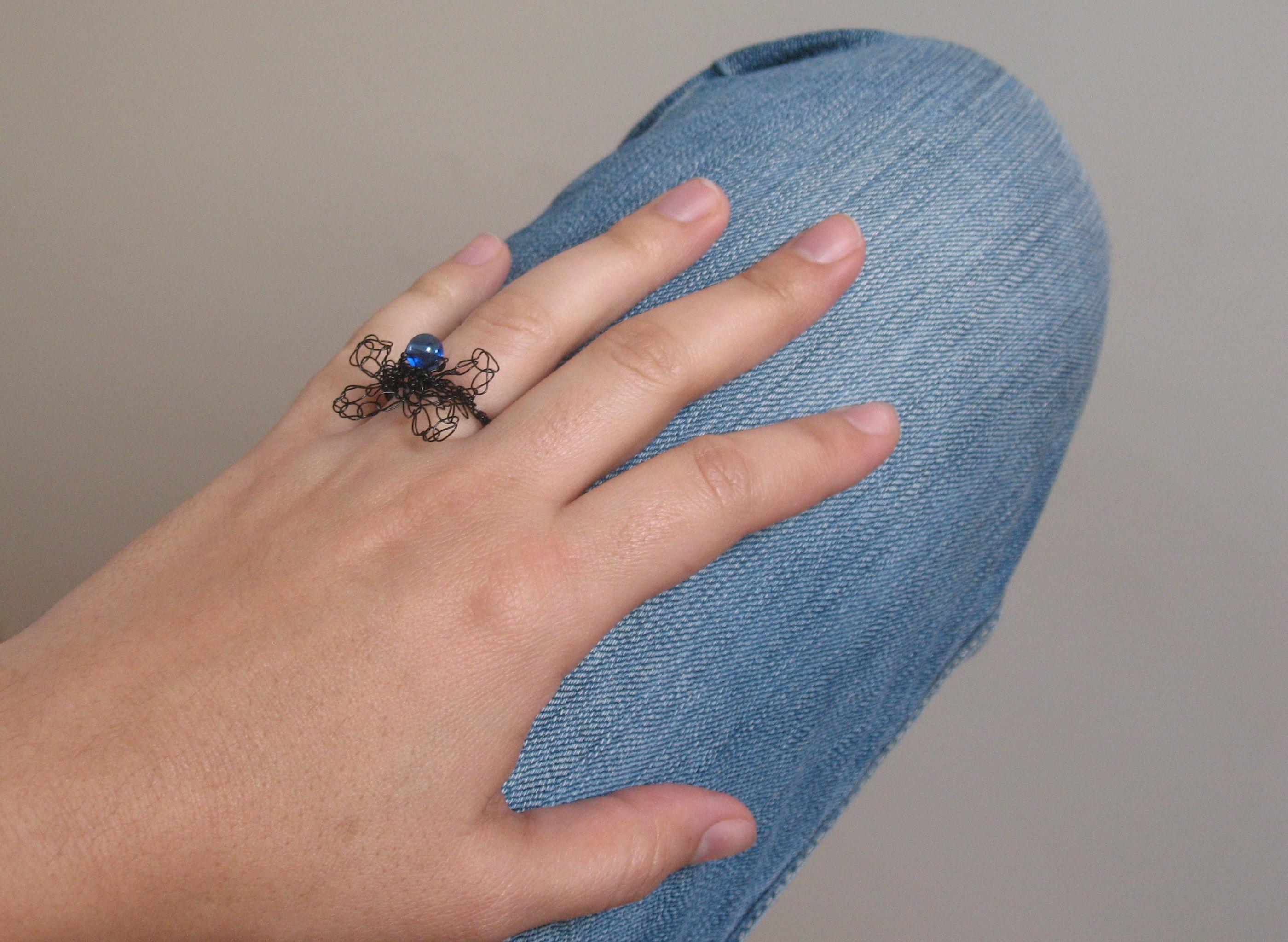Drahtschmuck Ring aus Draht | BENNELLE