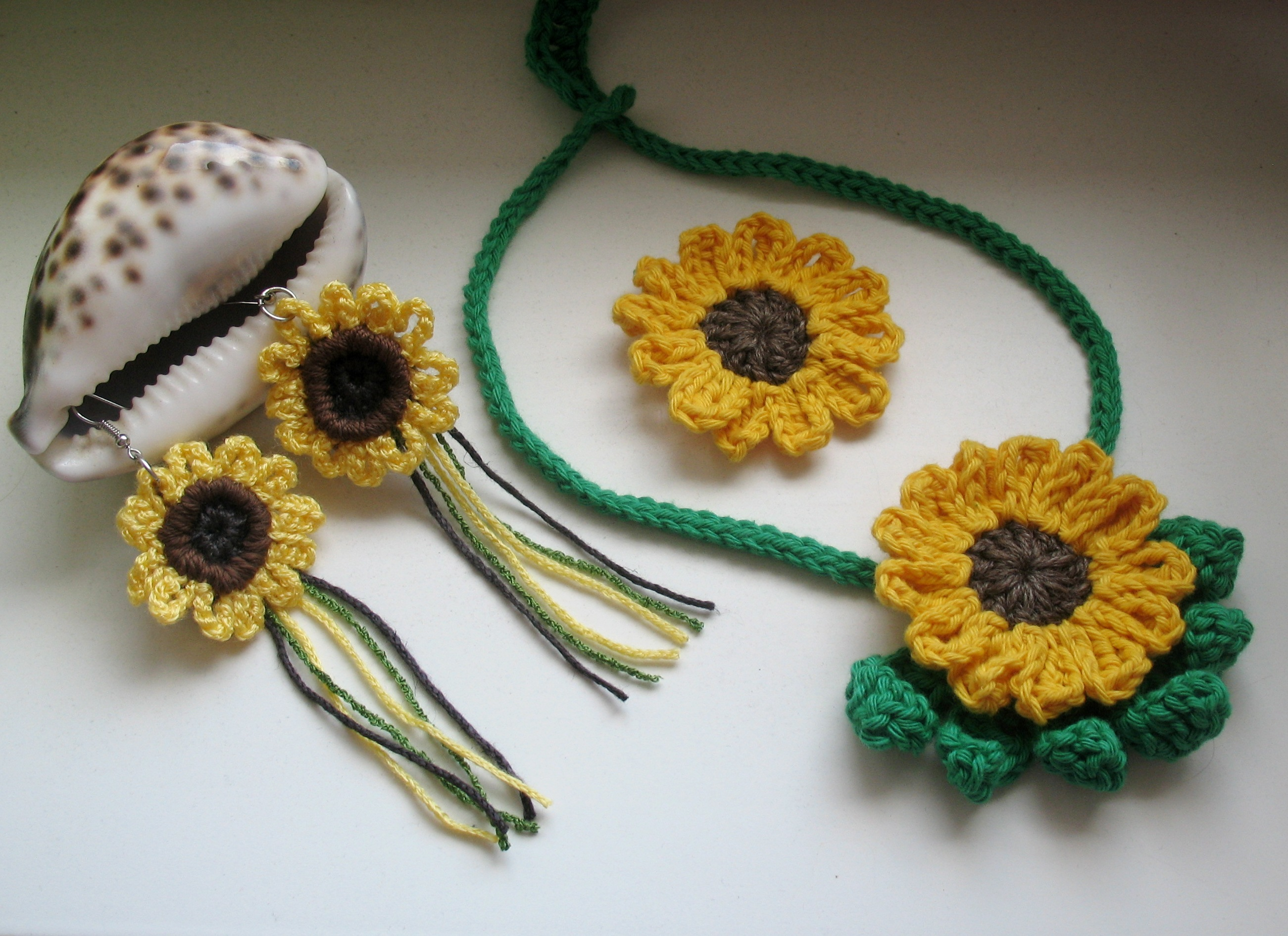 Sonnenblumen häkeln | BENNELLE